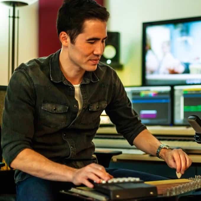 Composer Gavin Keese