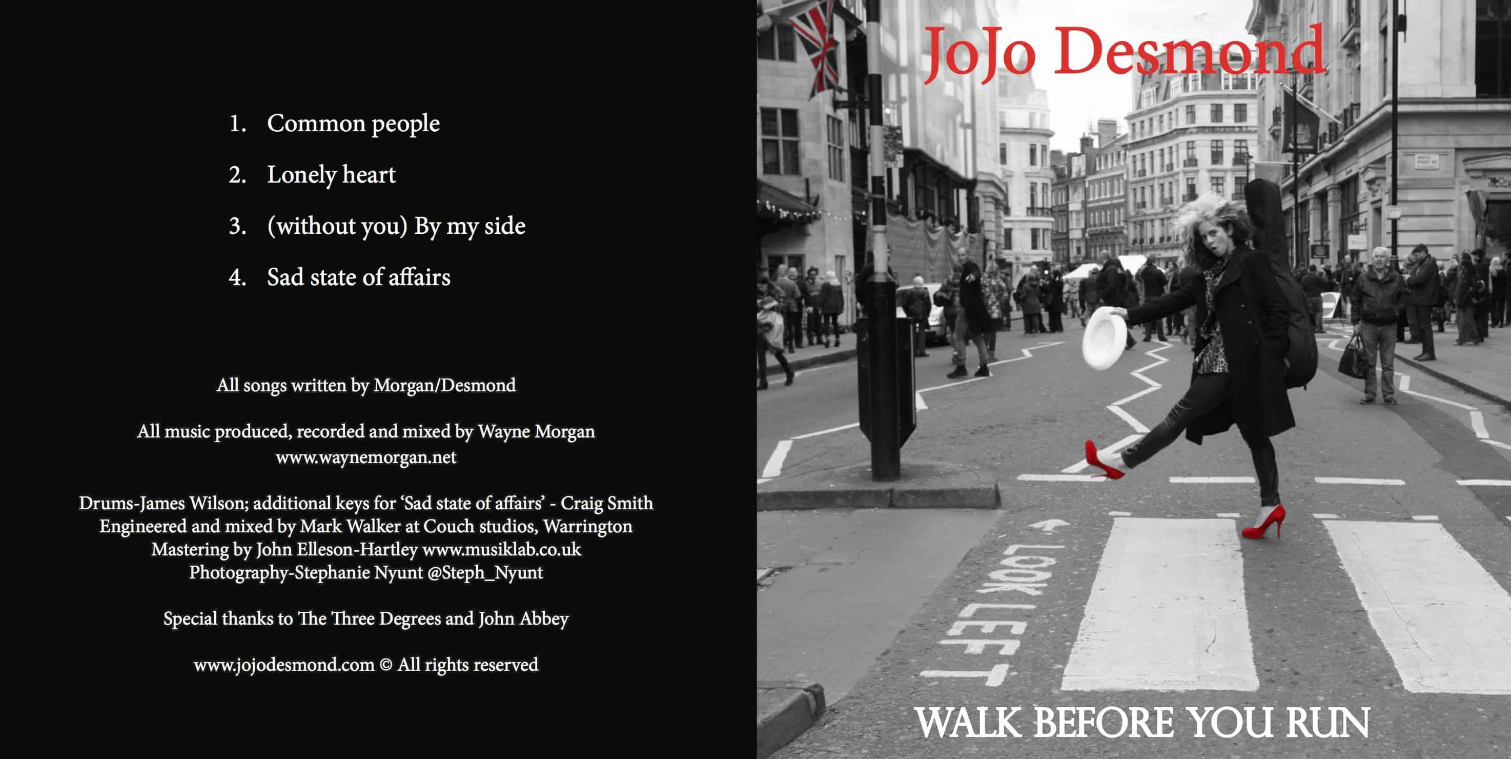 JoJo Desmond | Walk Before You Run