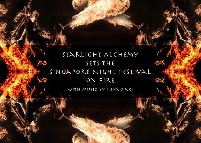 Starlight Alchemy Sets The Singapore Night Festival On Fire