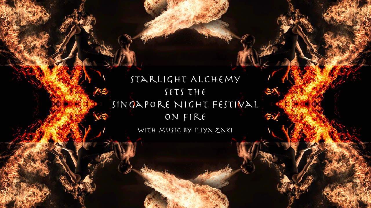 Starlight Alchemy Sets The Singapore Night Festival On Fire